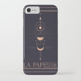 La Papesse or The High Priestess Tarot iPhone Case