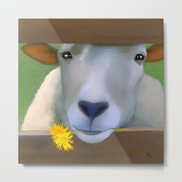 Sheepish Metal Print