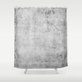 concrete wall vintage grey background,  wall texture * Shower Curtain