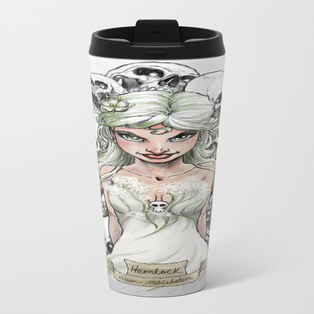 Hemlock Metal Travel Mug by Keithdecesare MTM7831550