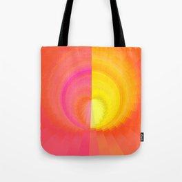 Sunset Orb Tote Bag