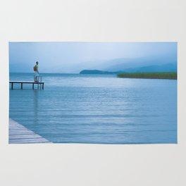 Lake in Struga Rug