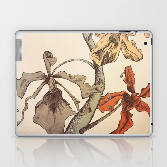 Hello Orchids Laptop & iPad Skin