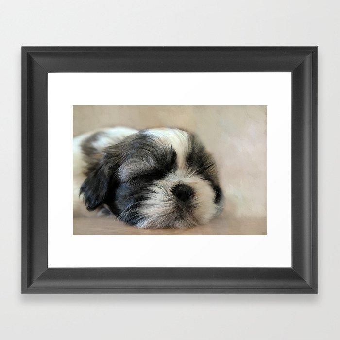 Puppy Love Gerahmter Kunstdruck