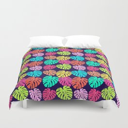 Monstera Deliciosa Print Duvet Cover