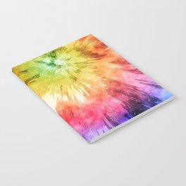 Tie Dye Watercolor Notebook