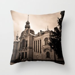 The Old Palace Throw Pillow