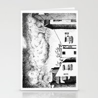 buildings Stationery Cards featuring Buildings by Giuseppe Vassallo