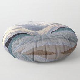 Beachside Mornings Floor Pillow