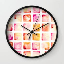 Peach Cobbler Wall Clock
