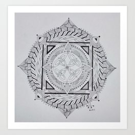 Celtic Mandala 2 Art Print