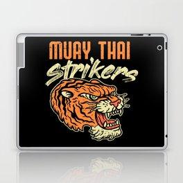 Muay Thai Strikers Tiger Kickboxing MMA Material Arts Judo Karate Gift Laptop & iPad Skin