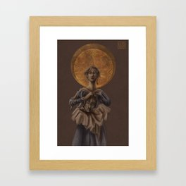 Saint Judith Framed Art Print