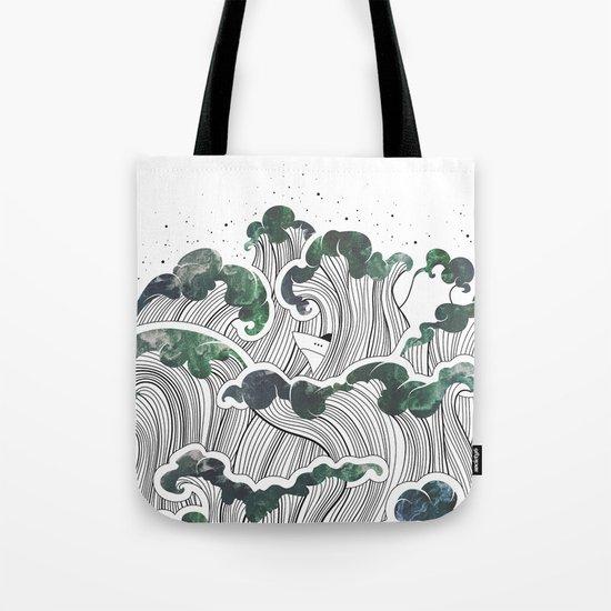 Storming mind   White Tote Bag