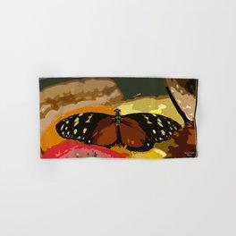 Butterfly in black Hand & Bath Towel