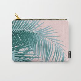 Palm Leaves Blush Summer Vibes #3 #tropical #decor #art #society6 Carry-All Pouch