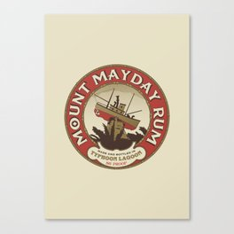 Mount Mayday Rum Canvas Print