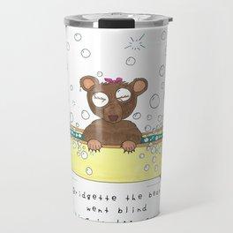 B Bridgette the Bear Travel Mug