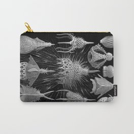 Plankton Shells (Cyrtoidea) by Ernst Haeckel Carry-All Pouch