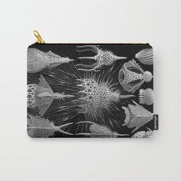 Plankton Shells (Cyrtoidea) by Ernst Haeckel Carry-All Pouch