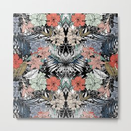 Flower jungle Metal Print