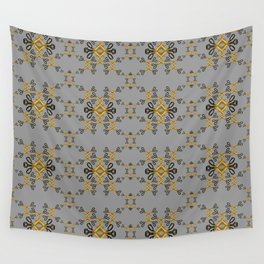 Shears in yellow game Wall Tapestry
