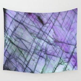 Purple Labradorite Wall Tapestry