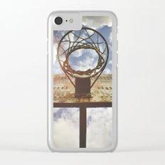 Hoosier Basketball Clear iPhone Case