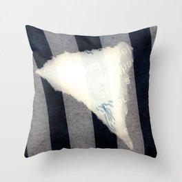 TYPE O Throw Pillow