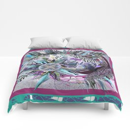 Manchester whirl Comforters