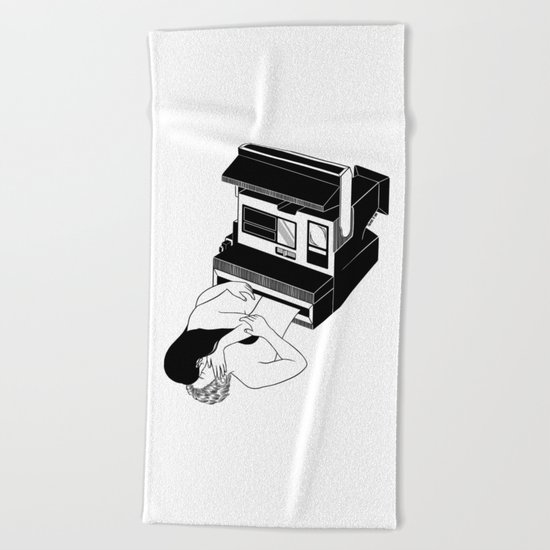 Instant Love Beach Towel