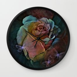 GARDEN OF COLOR Wall Clock