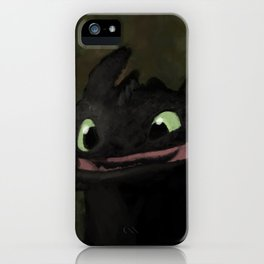 Toothless Grin iPhone Case
