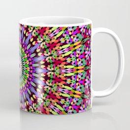 Petal Burst Mandala Coffee Mug
