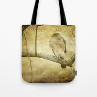 hunter x hunter Tote Bags featuring Hunter by Curt Saunier