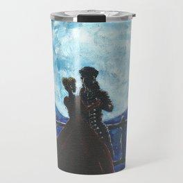 Pirate and Princess Dancing in the Moonlight Travel Mug