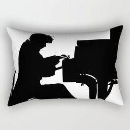 Glenn Gould, Thirty two short films about Glenn Gould,  François Girard, music poster, piano design Rectangular Pillow