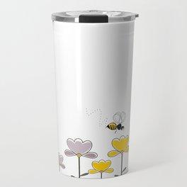 "Let it ""bee"" Travel Mug"