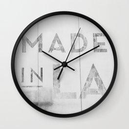 Made in LA Wall Clock