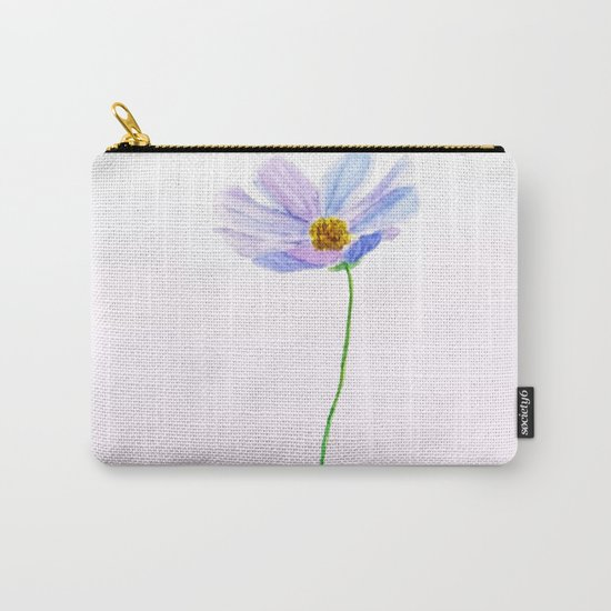 one purple cosmos Carry-All Pouch