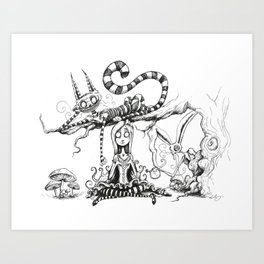 Imagination Grows  Art Print