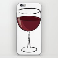 wine iPhone & iPod Skins featuring Wine by jssj