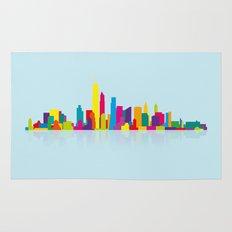 New WTC Skyline Rug