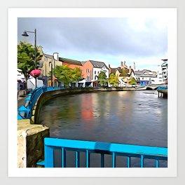 Irish Charm in Sligo Town Art Print