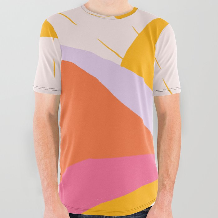 laurel canyon sunrise All Over Graphic Tee