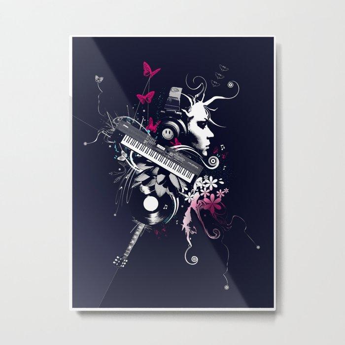 Beautiz Metal Print