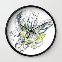 Cauliflower Study I  Wall Clock