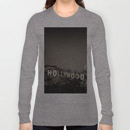 Vintage Hollywood sign Long Sleeve T-shirt