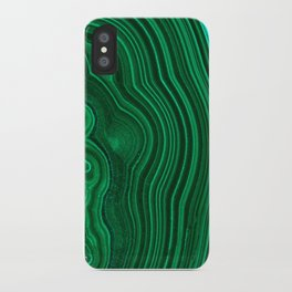 Malachite no. 2 iPhone Case