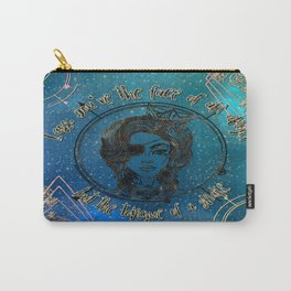 Face of an Angel Carry-All Pouch